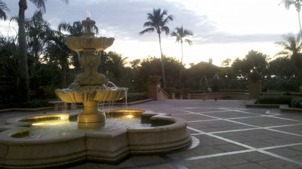Fountain in Naples FL
