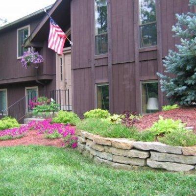 Residential Stone Retaining Wall