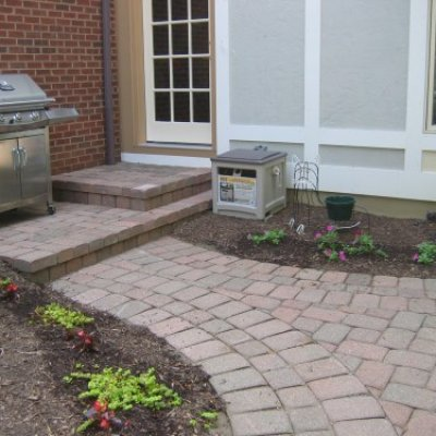 Paver Steps & Patio