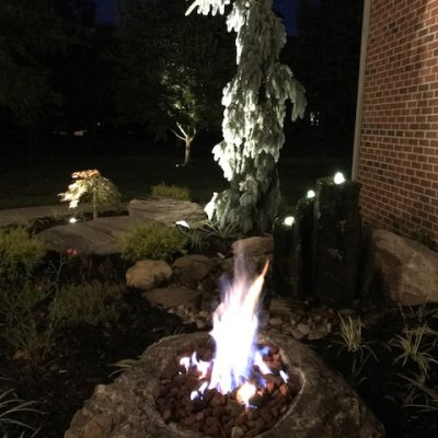 Unique Propane Fire Pit