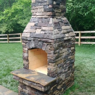 Stoneage Fireplace