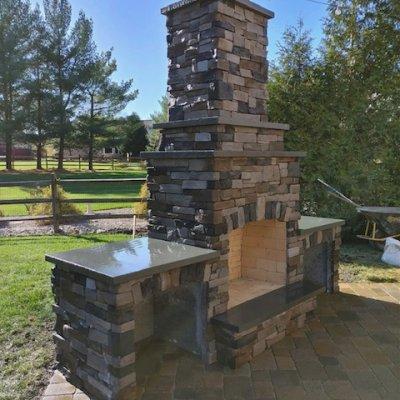 Custom Fireplace - StoneAge