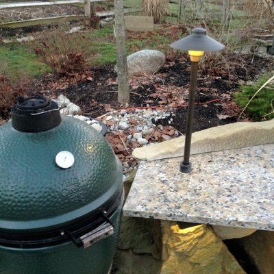 Green Egg  Granite Counter Top LED Lighting