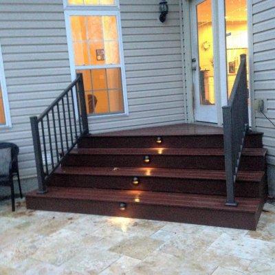 Custom Step LED Lighting