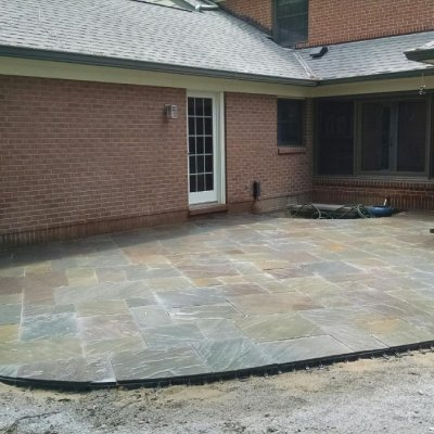Dimensional Pennsylvania Stone Patio