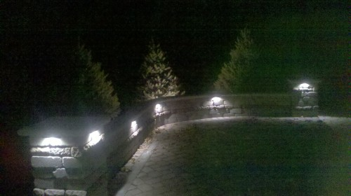 LED, Low voltage landscape lighting